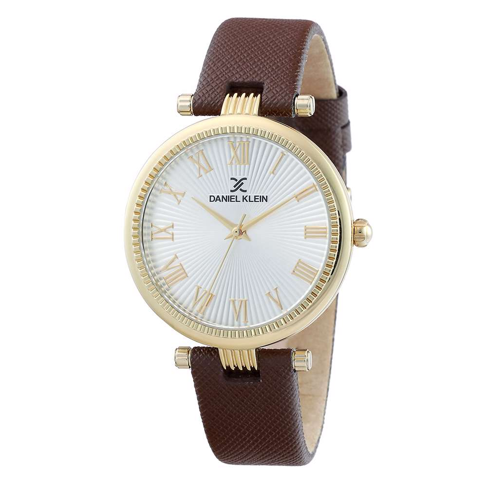Leather Womens''s Brown Watch - DK.1.12270-4