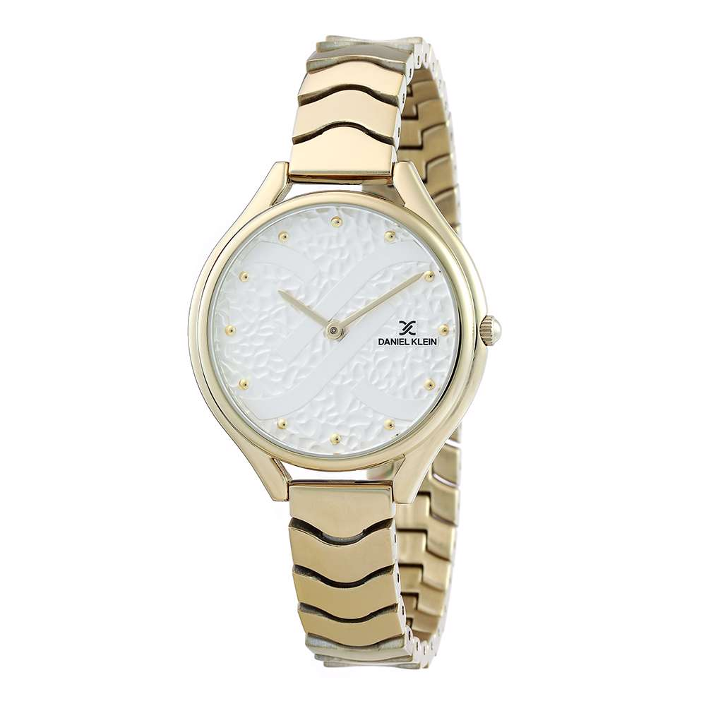 Stainless Steel Womens''s Gold Watch - DK.1.12271-2