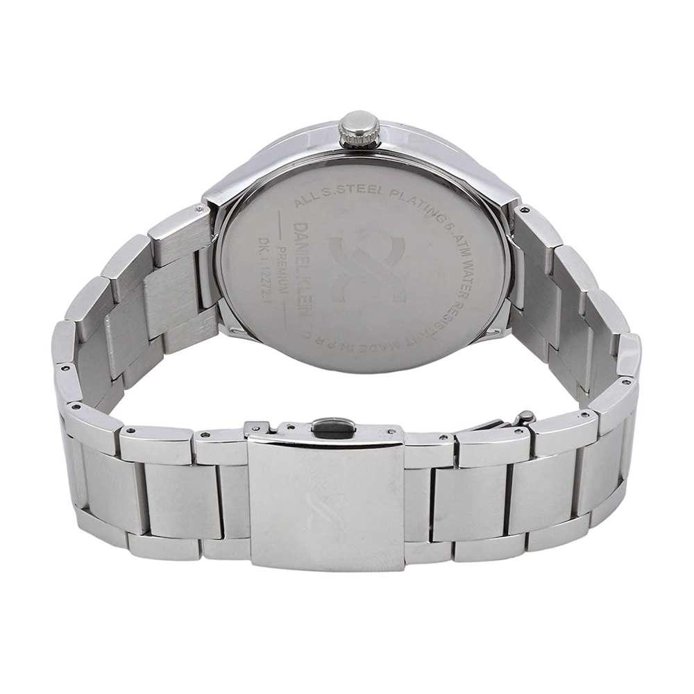 Stainless Steel Mens''s Silver Watch - DK.1.12272-1