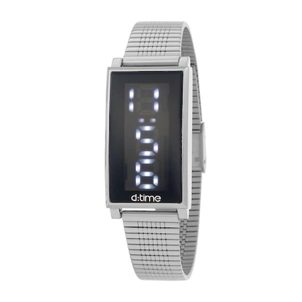 Mesh Band Womens''s Silver Watch - DK.1.12273-1