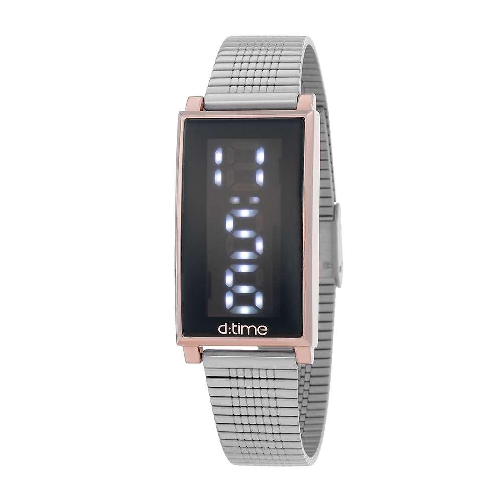 Mesh Band Womens''s Silver Watch - DK.1.12273-2