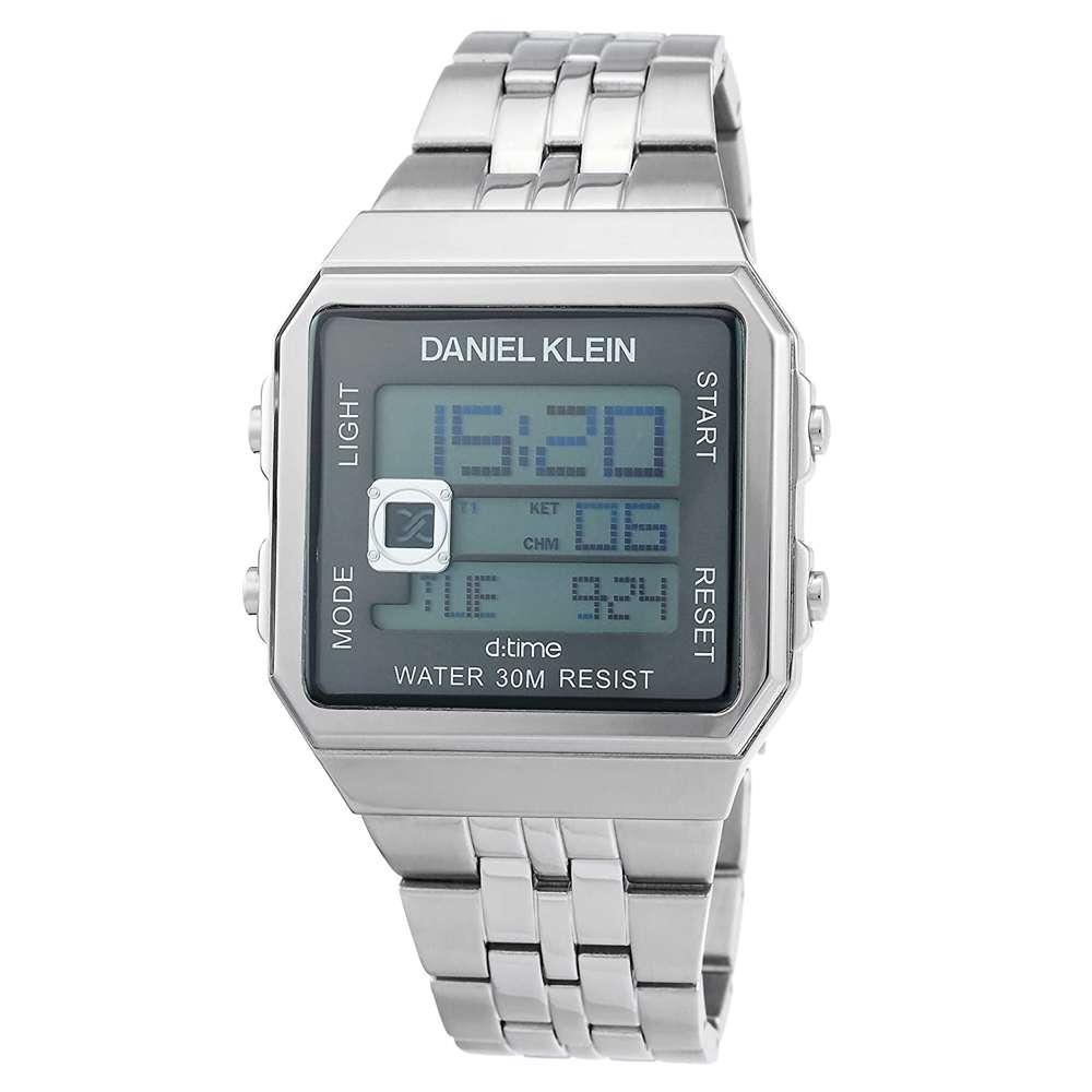 Stainless Steel Mens''s Silver Watch - DK.1.12274-2
