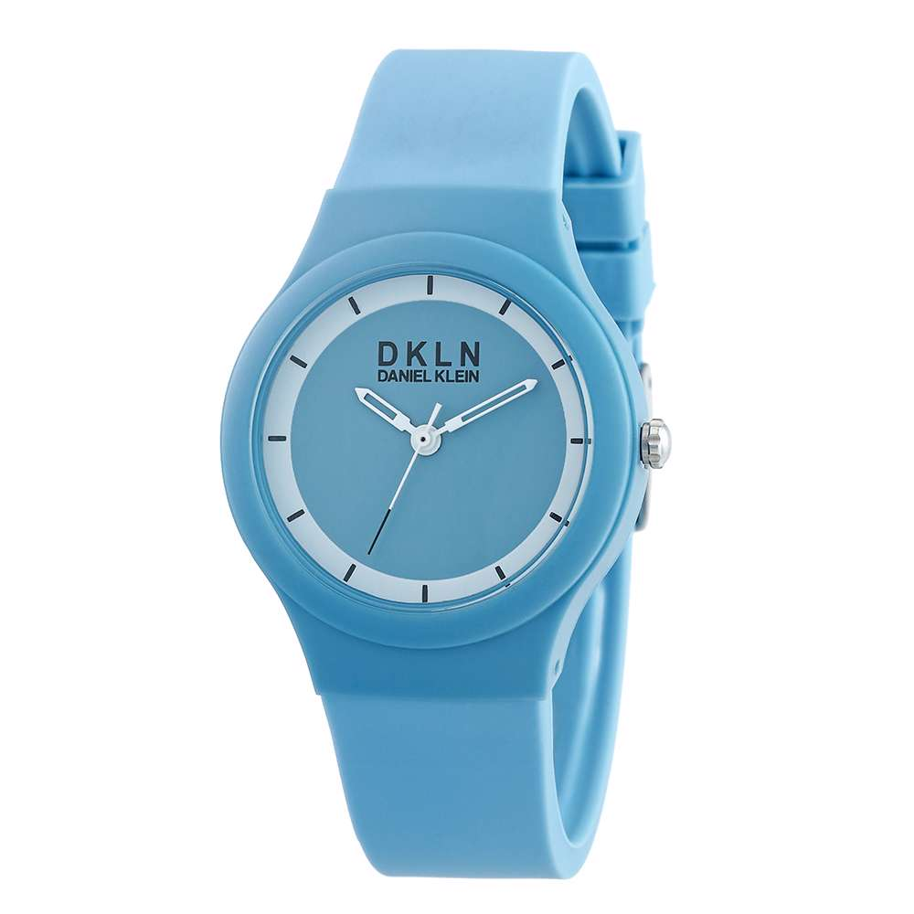 Silicone Womens''s Blue Watch - DK.1.12277-3