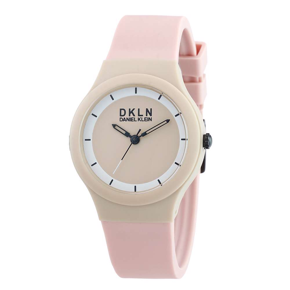 Silicone Womens''s Black Watch - DK.1.12277-5