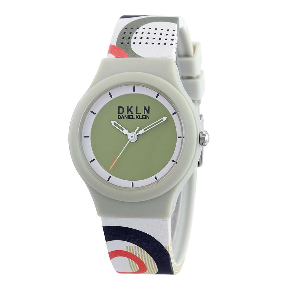 Silicone Womens''s Rainbow Watch - DK.1.12277-8