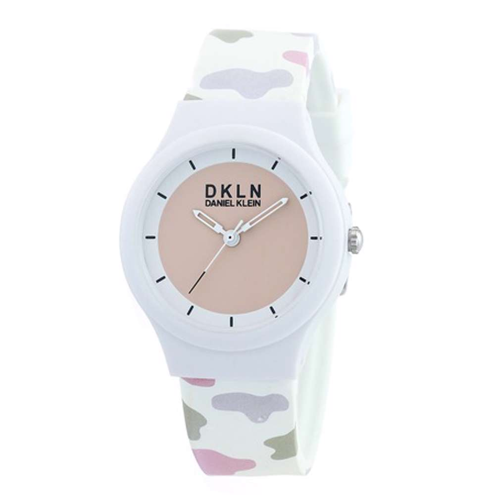 Silicone Womens''s Multicolour Watch - DK.1.12277-9