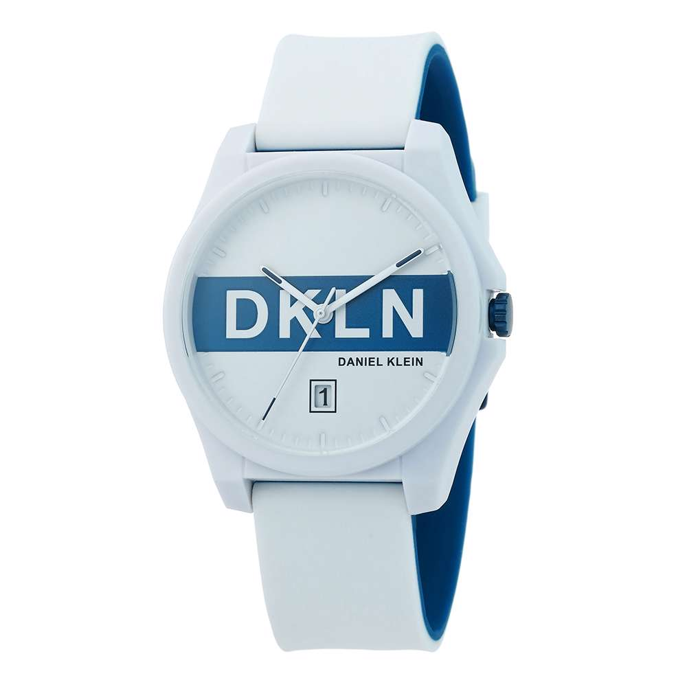 Silicone Mens''s Black Watch - DK.1.12278-5
