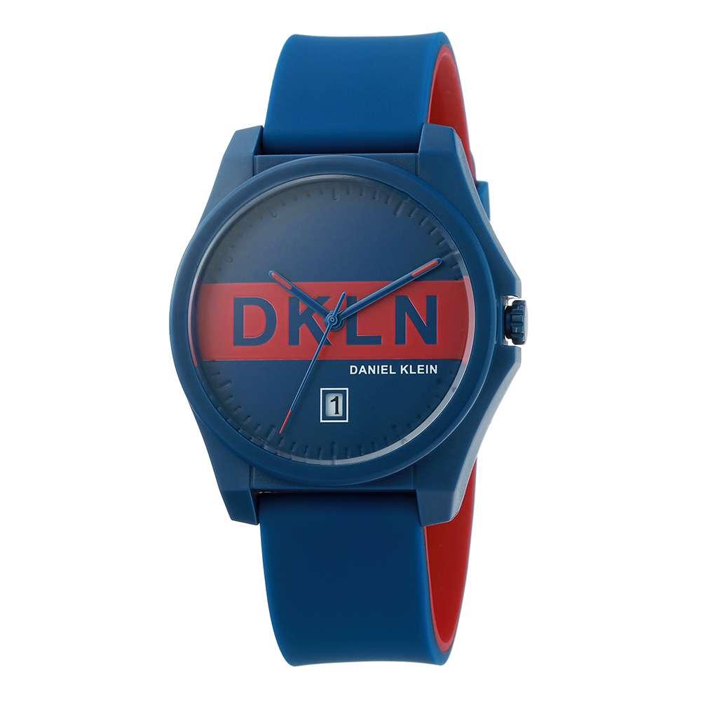 Silicone Mens''s Multicolour/ Black Watch - DK.1.12278-9