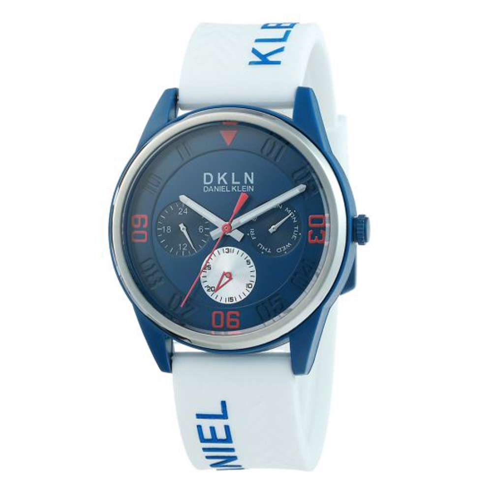 Silicone Mens''s Grey Watch - DK.1.12279-6