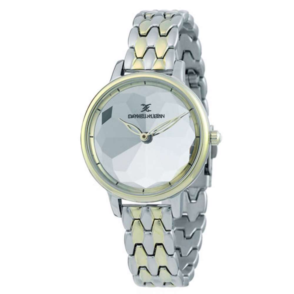 Stainless Steel Womens''s Two Tone Gold Watch - DK.1.12280-4