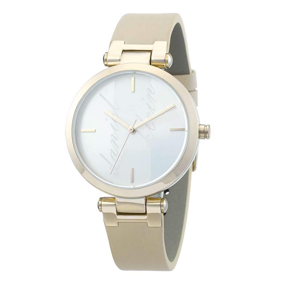 Leather Womens''s Brown Watch - DK.1.12281-2