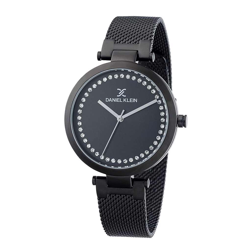 Mesh Band Womens''s Black Watch - DK.1.12282-5