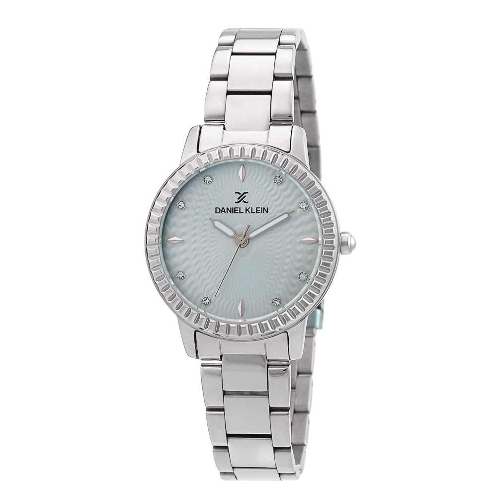 Stainless Steel Womens''s Silver Watch - DK.1.12287-1
