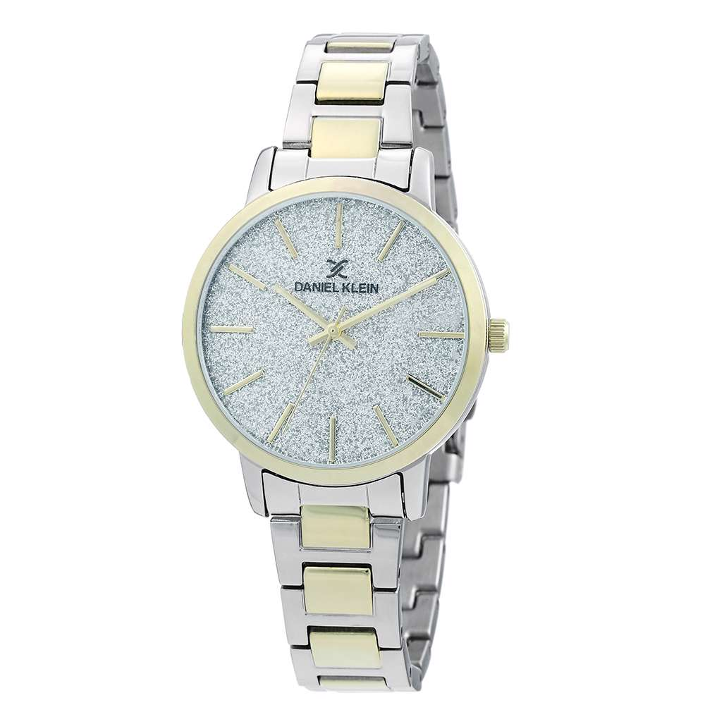 Stainless Steel Womens''s Two Tone Gold Watch - DK.1.12288-5