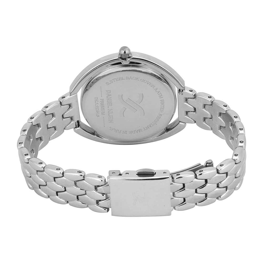 Stainless Steel Womens''s Silver Watch - DK.1.12290-1