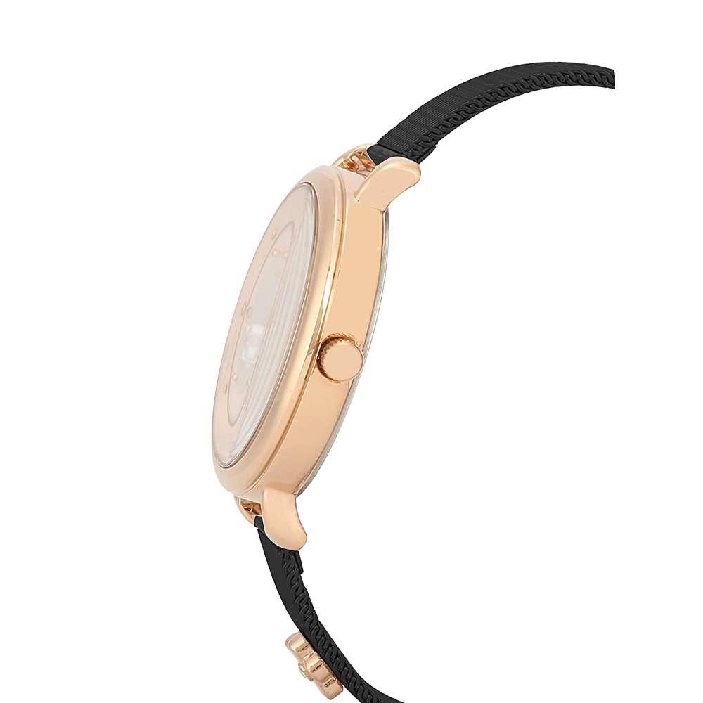 Mesh Band Womens''s Black Watch - DK.1.12291-6