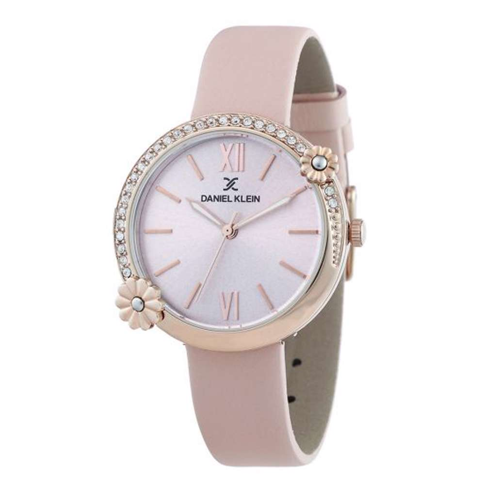 Leather Womens''s Pink Watch - DK.1.12292-2