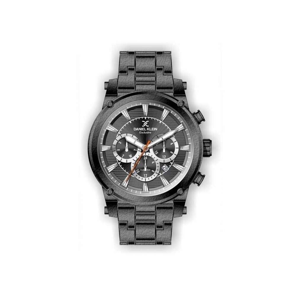 Stainless Steel Mens''s Grey Watch - DK.1.12297-4