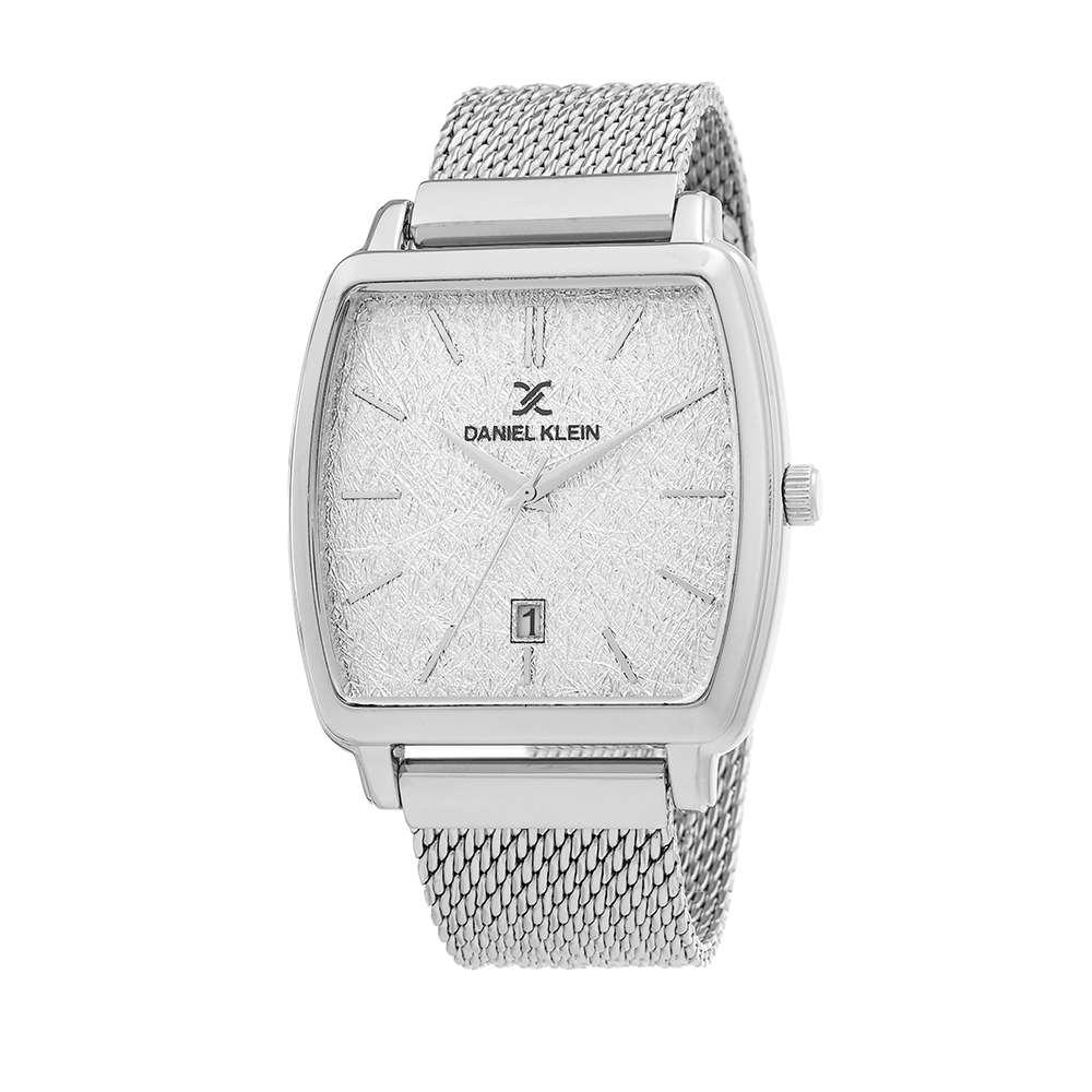 Mesh Band Mens''s Silver Watch - DK.1.12300-1