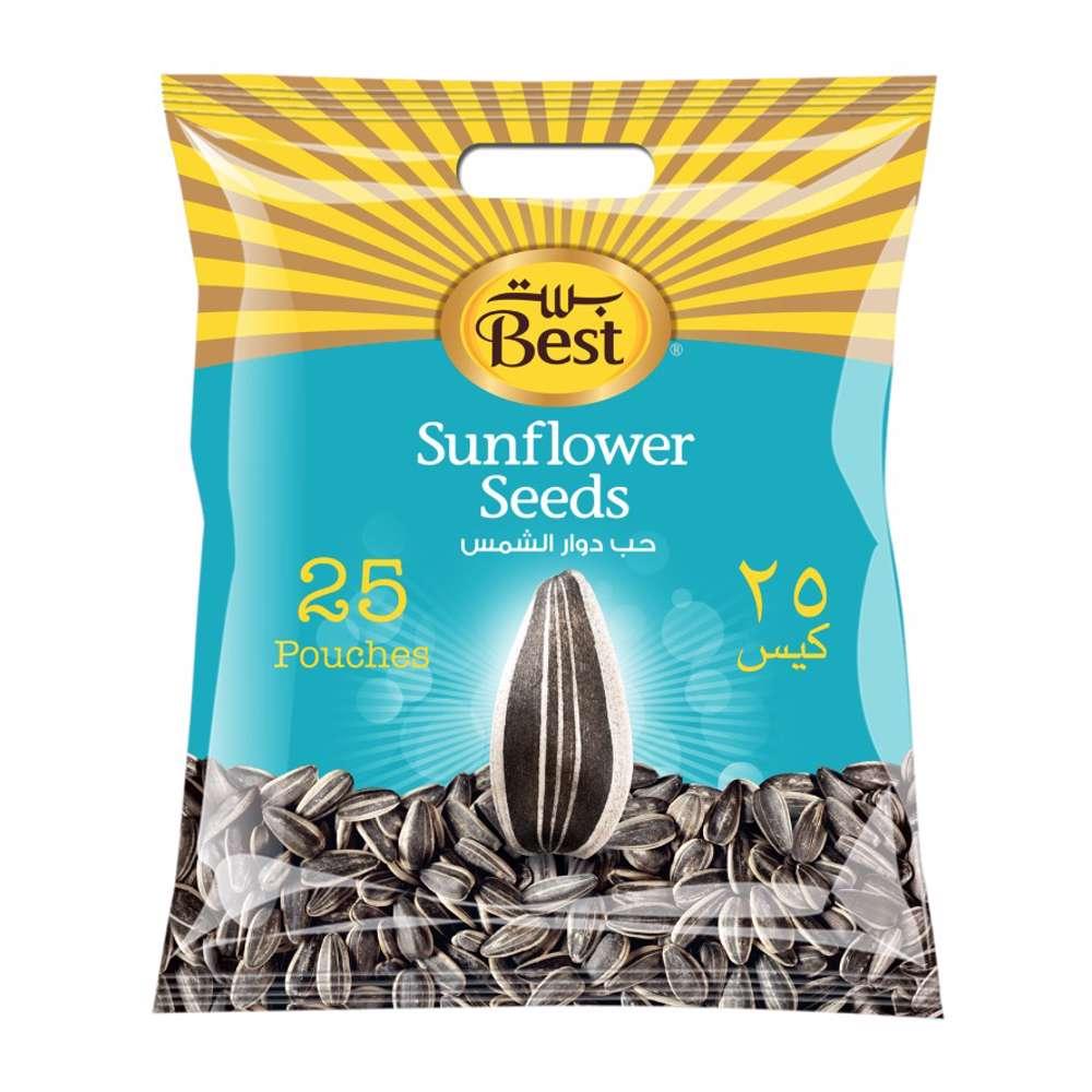 Best Sunflower Seeds Pouch 25gm-25Pcs/Bag