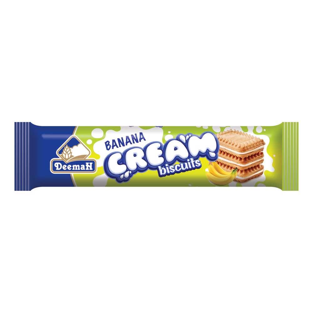 Deemah Banana Cream Biscuits 90gm