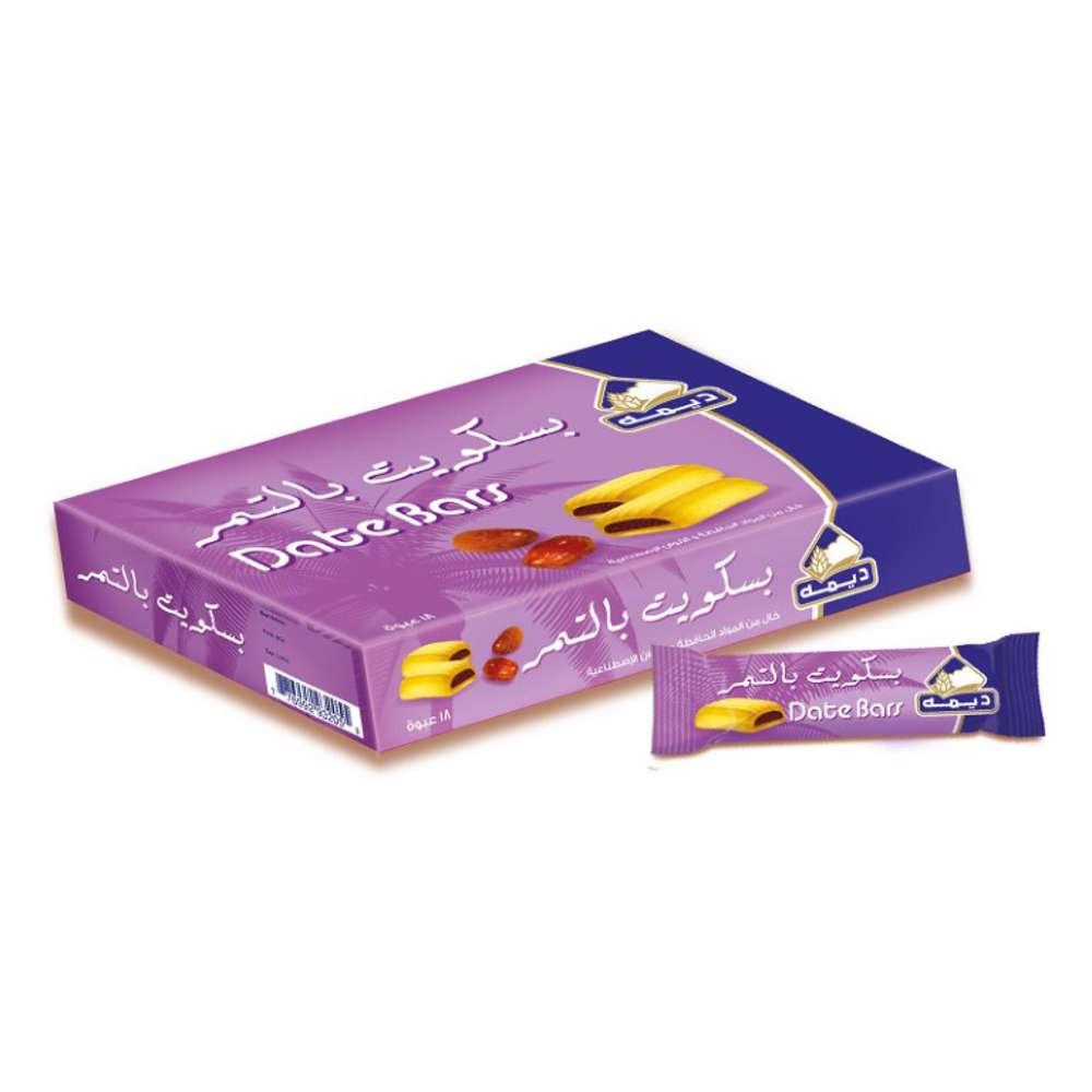 Deemah Date Bars 25gm Box 15Pcs