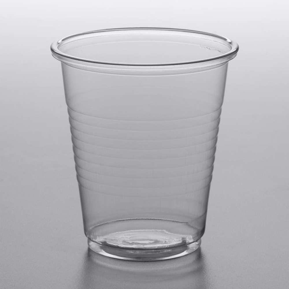 MPC Plastic PP Cup Clear 5oz - 70 Dia. - 1000pcs