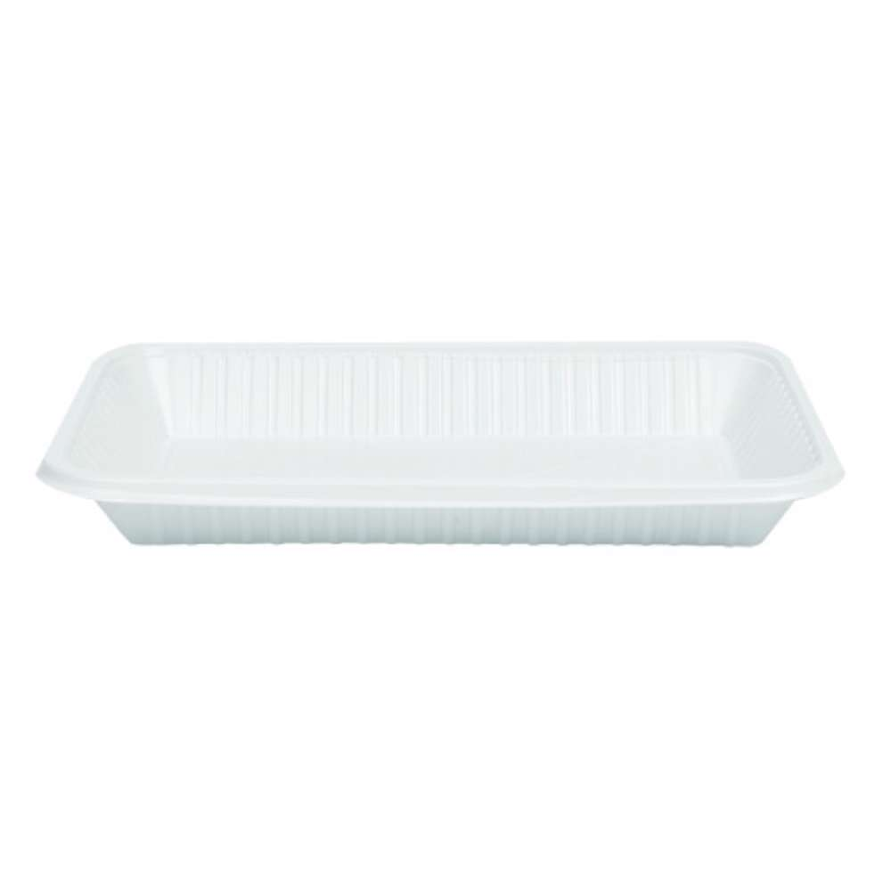 MPC Plastic PP Rectangular Tray White V4 - 9kg 236pcs