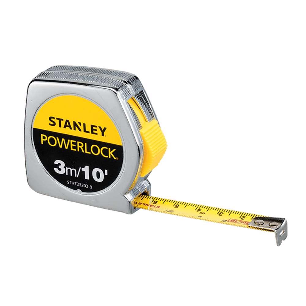 Stanley STHT33203-8 Power Lock M.Tape 3M/Ex13mm Metric-Imperial