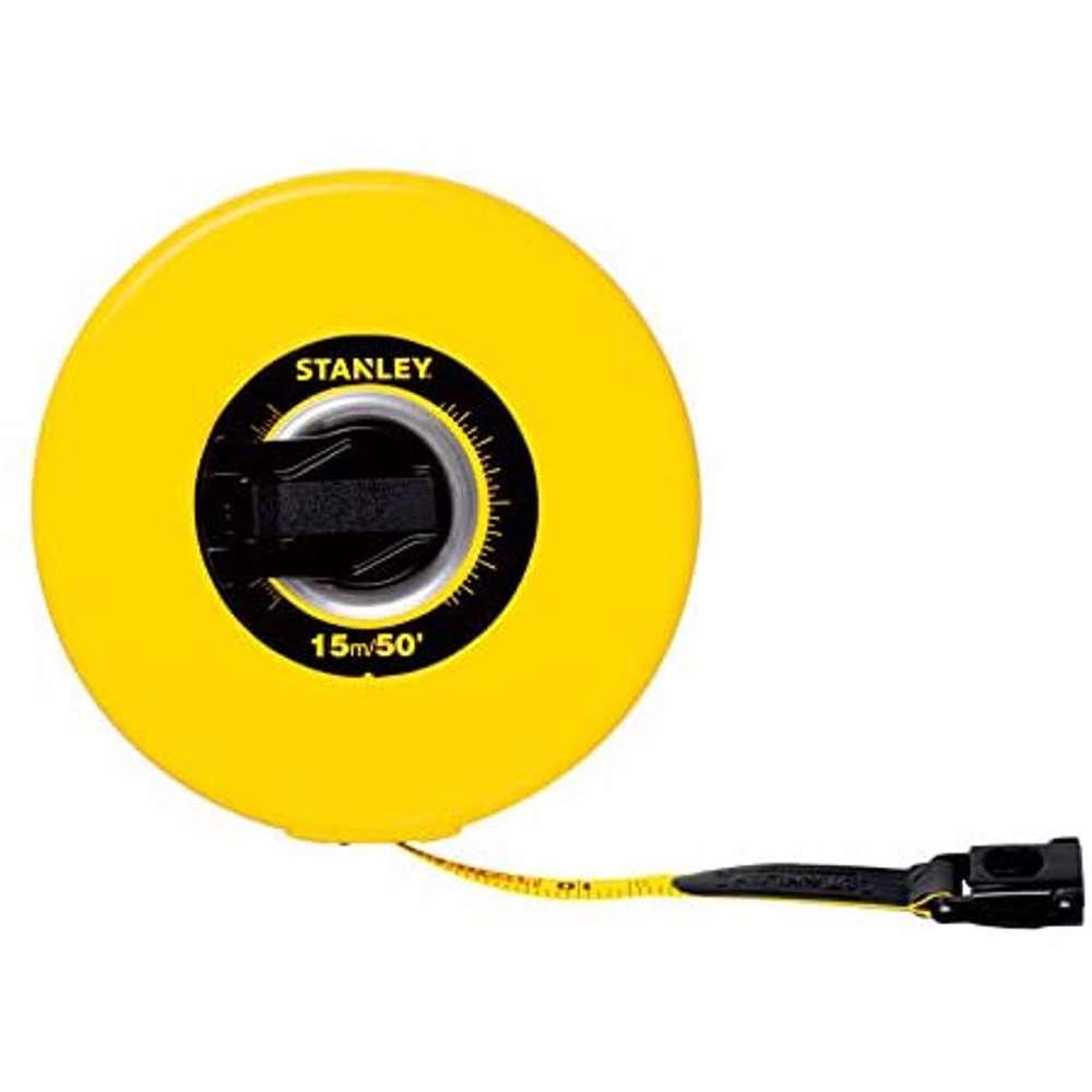 Stanley STHT34297-8 Closed Case Fiber Glass M.Tape 30Mx10mm Metric