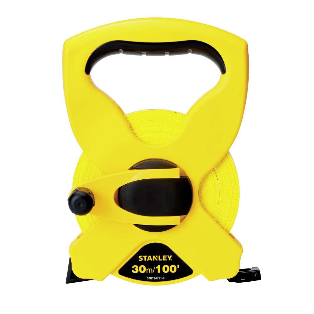 Stanley STHT34791-8 Open Case Fiber Glass Blade M.Tape 30M/Ex10mm Metric-Imperial
