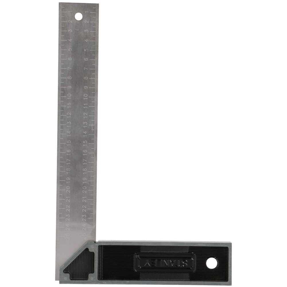 Stanley E-46534 Try Square Cast Zinc Handle 250mm