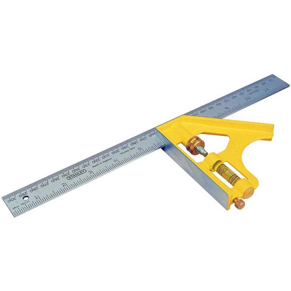 Stanley 2-46-028 Die Cast Combination Square 300mm Metric Imperial