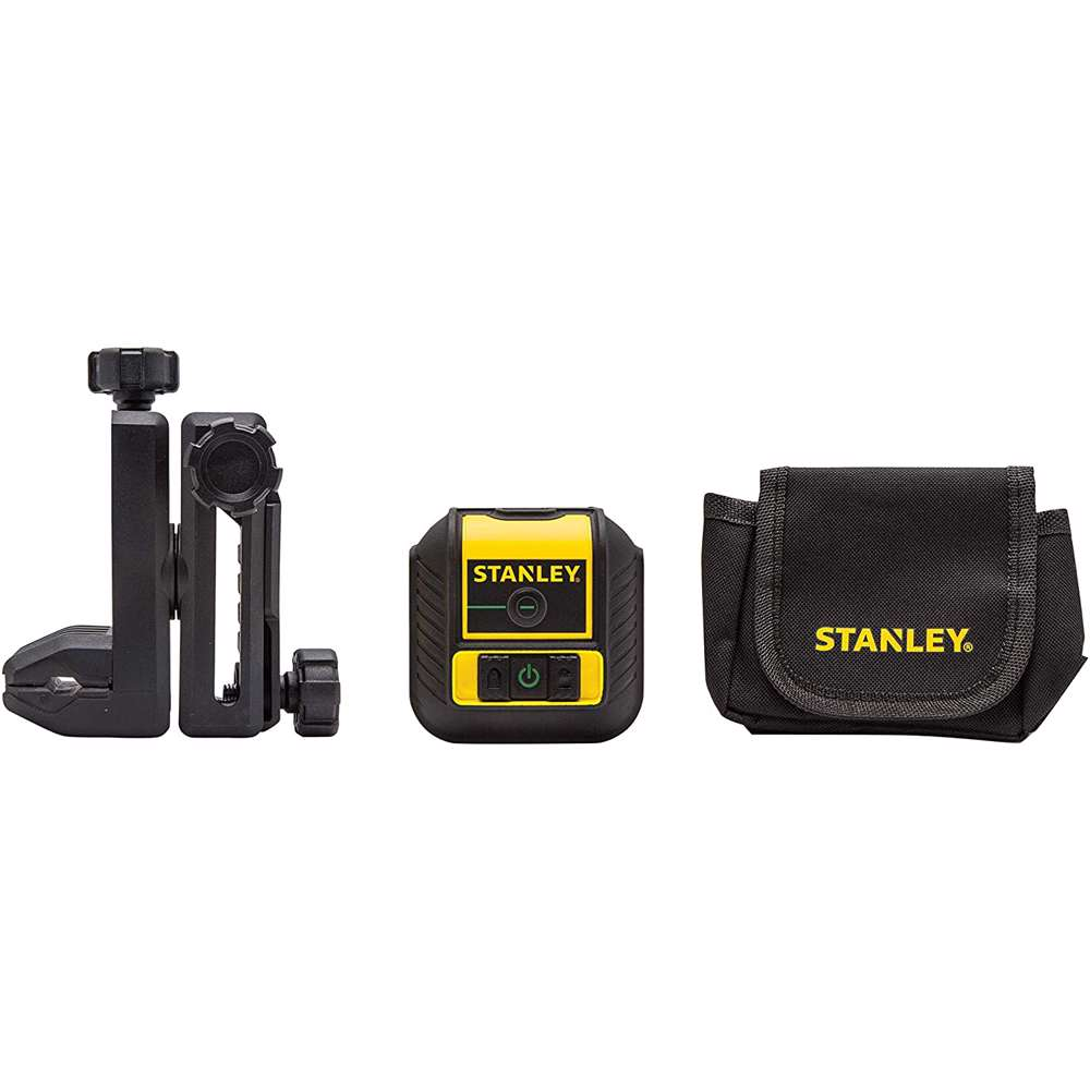 Stanley STHT77592-1 Cross 90 Grean Beam 16M, With Quick Link, Bag And Batteries