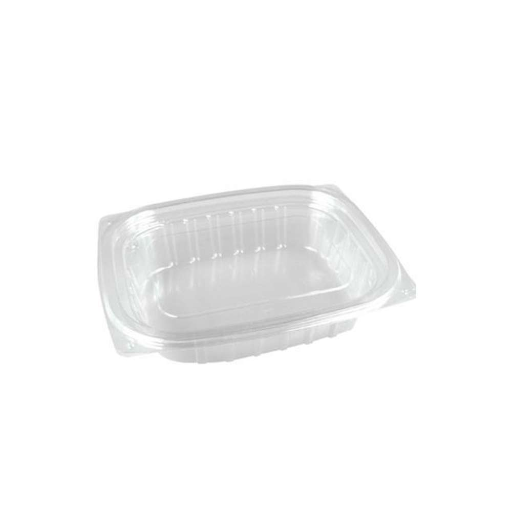 MPC PET Clear Rectangular Container 8oz-145x122x35.4 Without Lid - 250pcs