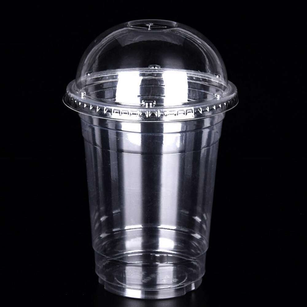 MPC PET Juice Cup Clear With Dome Lid 88.5mm -10oz- 1000pcs