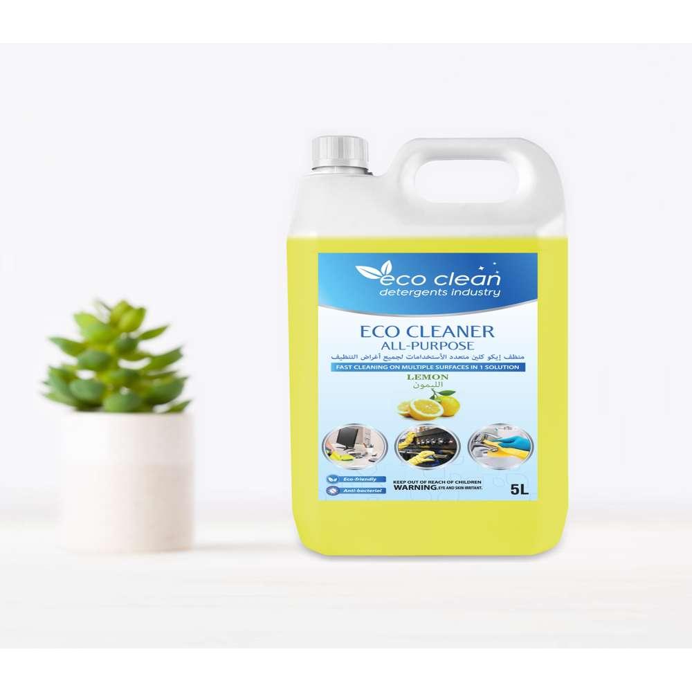 Eco Clean All Purpose Lemon (Yellow) - 5L