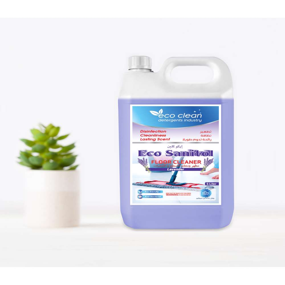 Eco Clean Sanitol Lavender Floor Cleaner - 5L