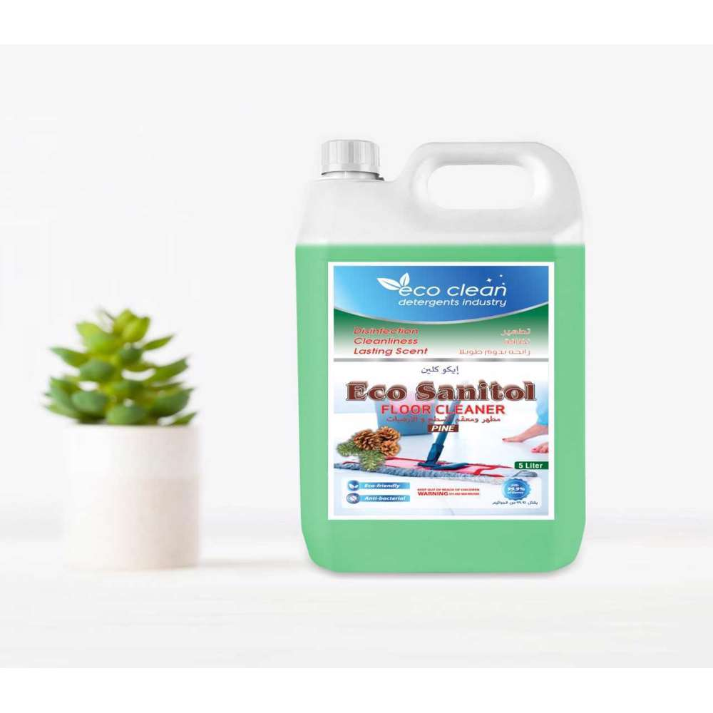 Eco Clean Sanitol Floor Cleaner Pine - 5L