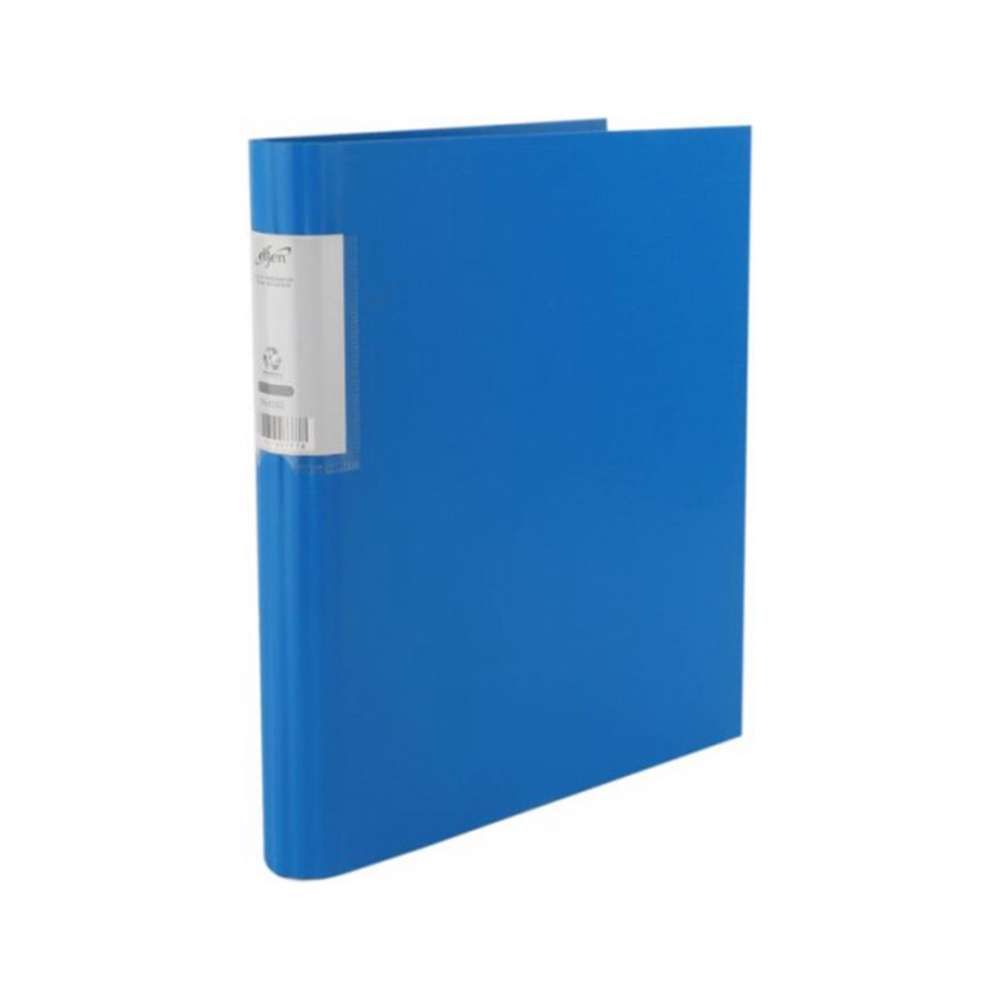 Elfen 4202 PP Economy Ring Binder, A4 Size, Blue Colour