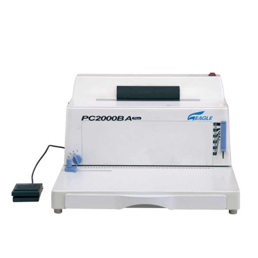Eagle Coil Binding Machine Pc 2000Ba Plus (Coil -Electric) - White