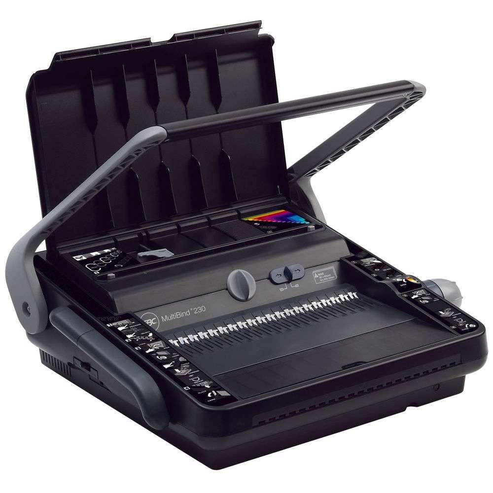 GBC MultiBind 230 Binding Machine (Manual) - Black