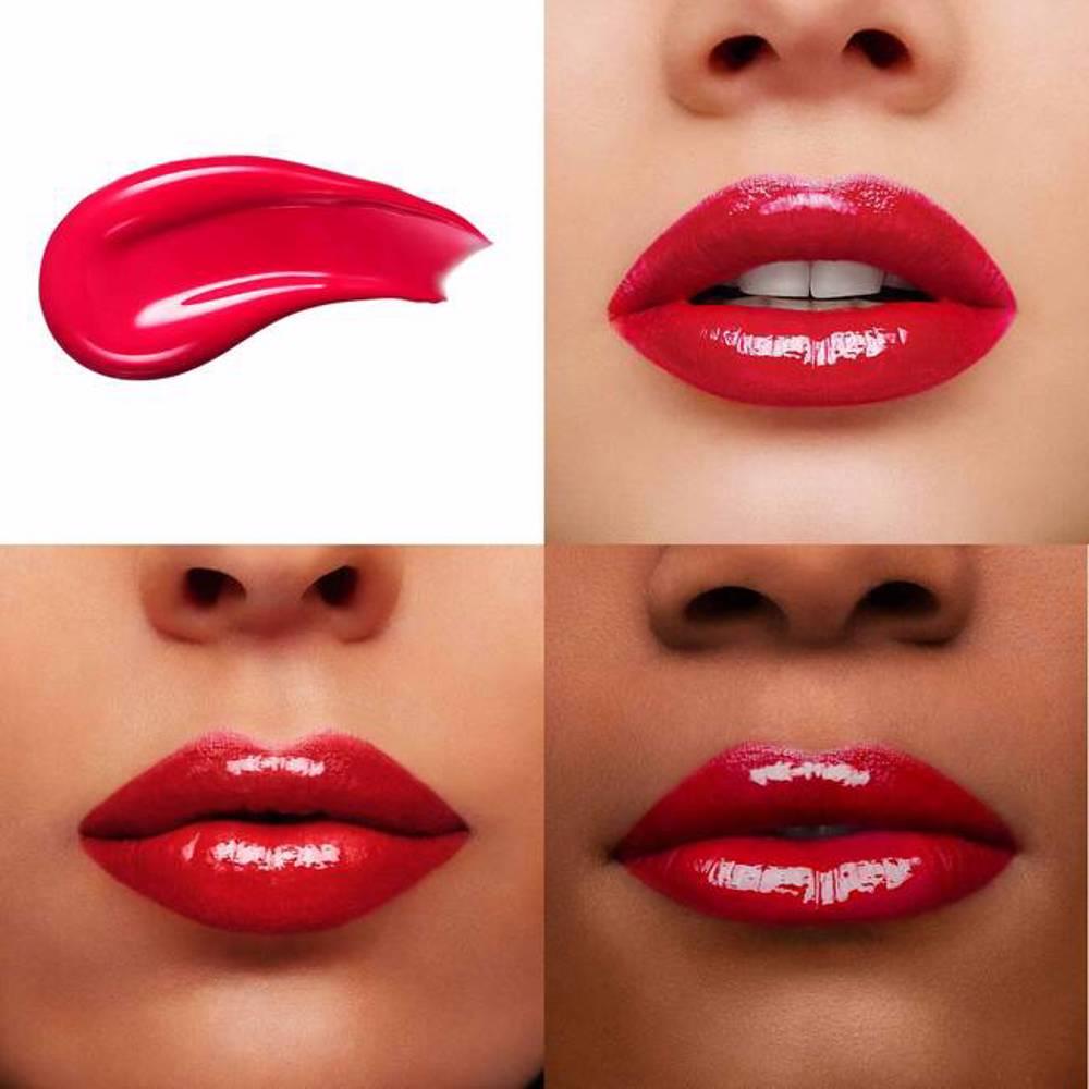 Lancome L''''Absolu Lacquer Buildable Shine & Color Longwear Lip Color - # 344 Ultra Rose 8Ml