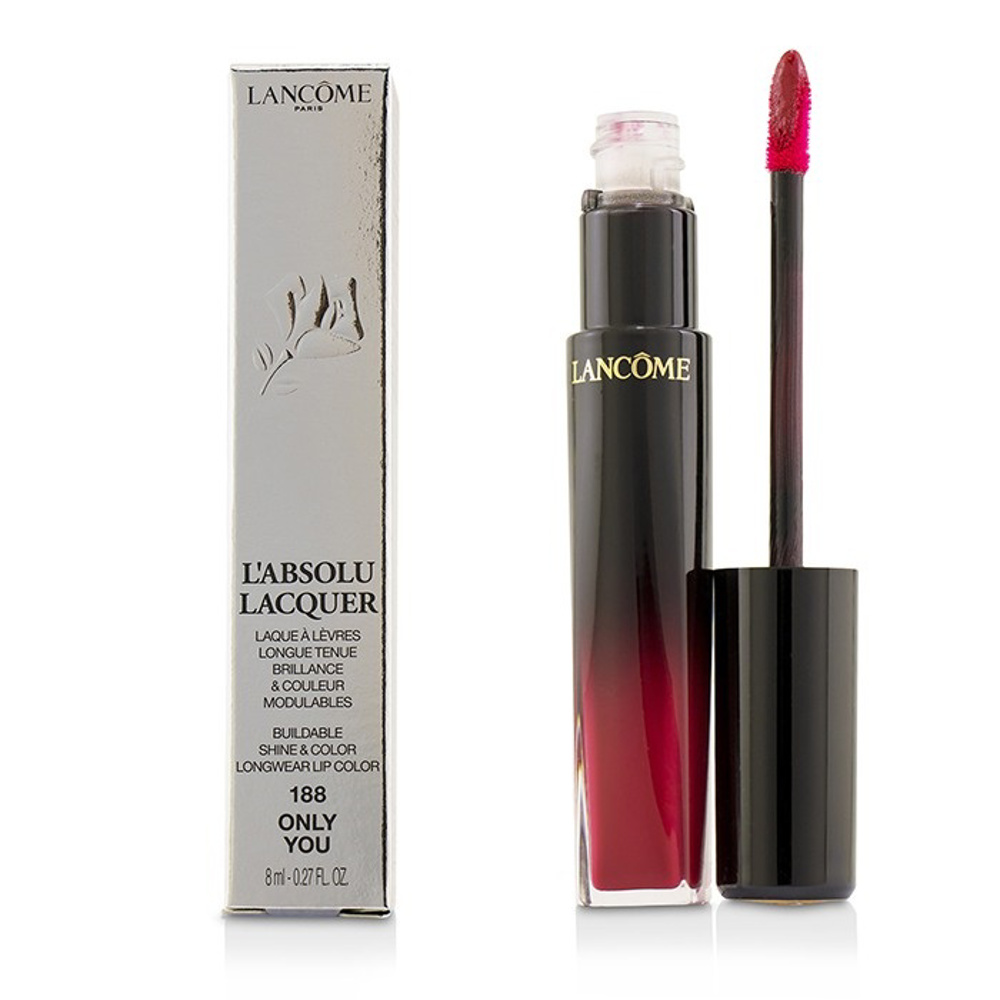 Lancome L''''Absolu Lacquer Buildable Shine & Color Longwear Lip Color - # 378 Be Unique 8Ml
