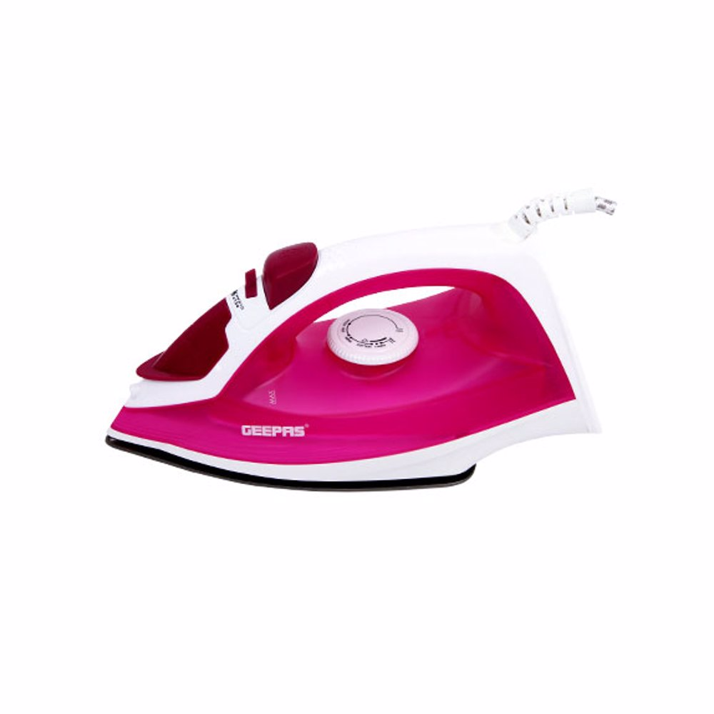Geepas GSI7808Steam Iron with Temperature Control