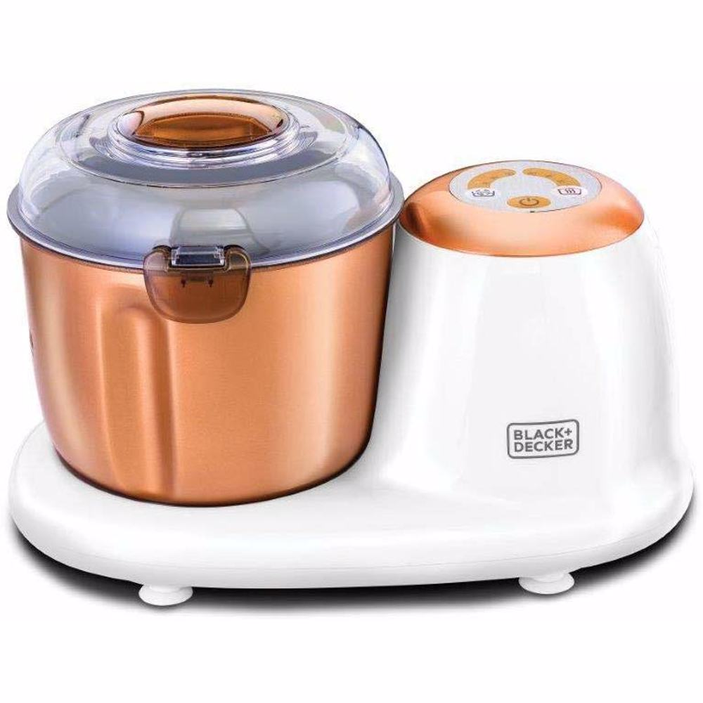 Black+Decker Dough Maker DC Motor, Rose Gold - DM50-B5