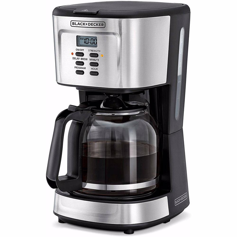Black+Decker 900W 12 Cup Programmable Coffee Maker - Dcm85-B5