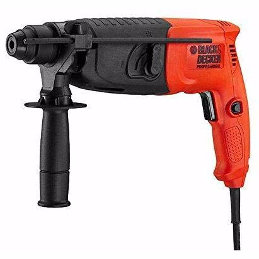 Black+Decker 20 mm 620W 2 Mode 2 Kg SDS + Hammer + Kitbox, BDHR202K-B5