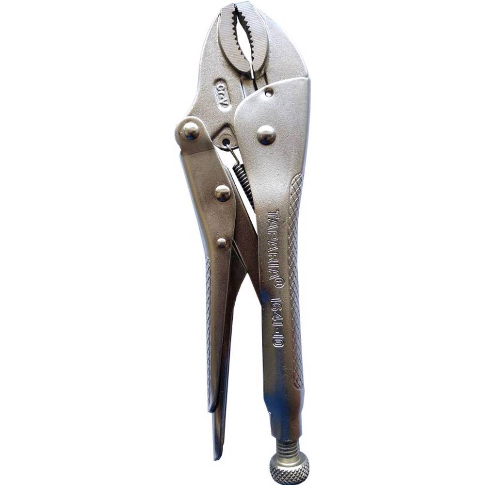 Taparia 1641-10/1641N-10 Locking Pliers / Vice Grip Pliers with Curved Jaw