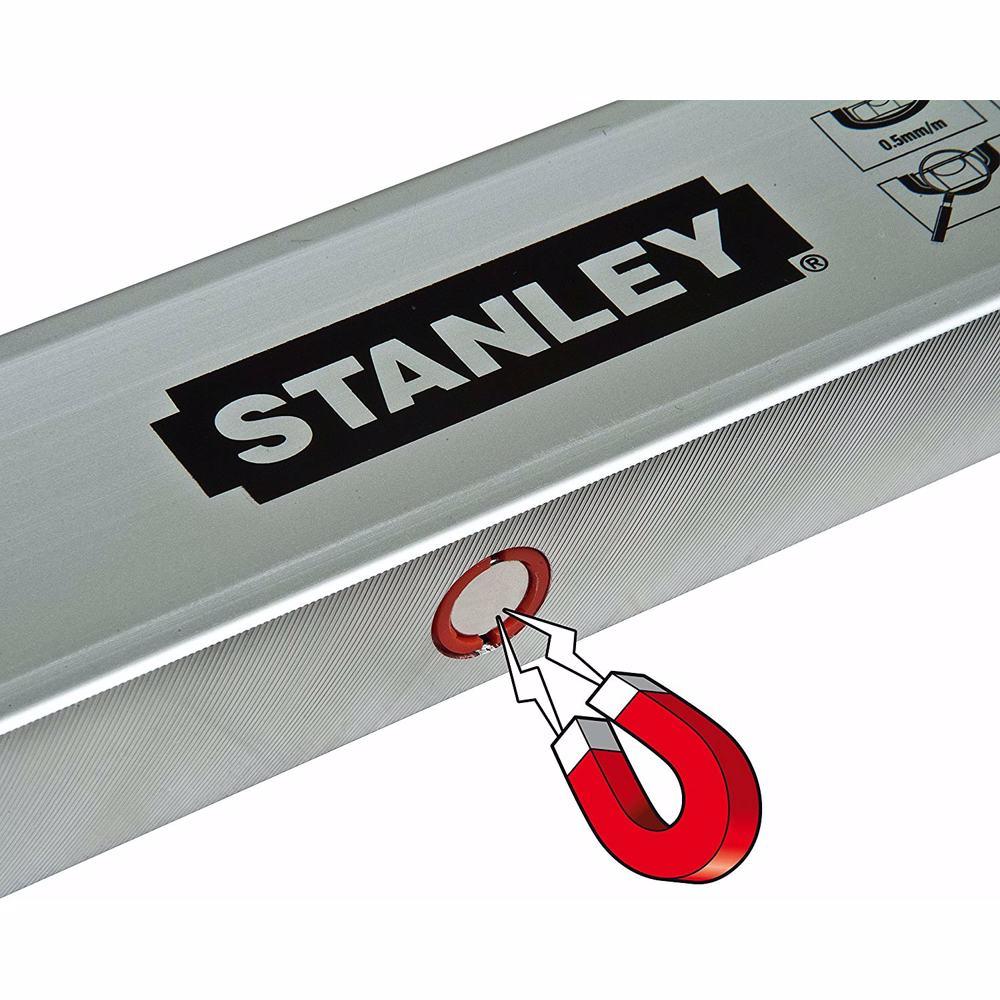 Stanley STHT1-43110 Classic Magnetic Spirit Level, Silver, 40 cm